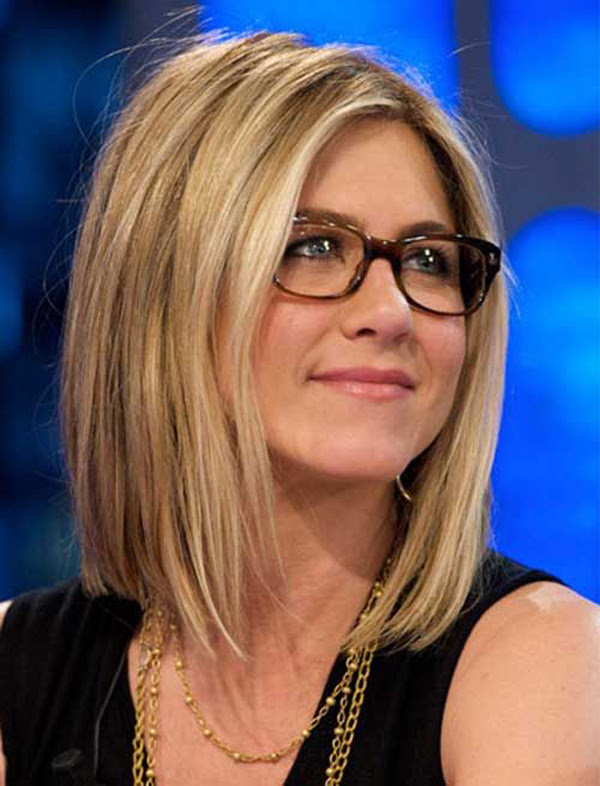 Jennifer Aniston Long Bob Haircut Fashionlookstylecom