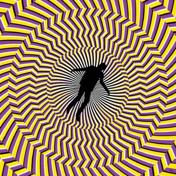 Vertigo Optical Illusion