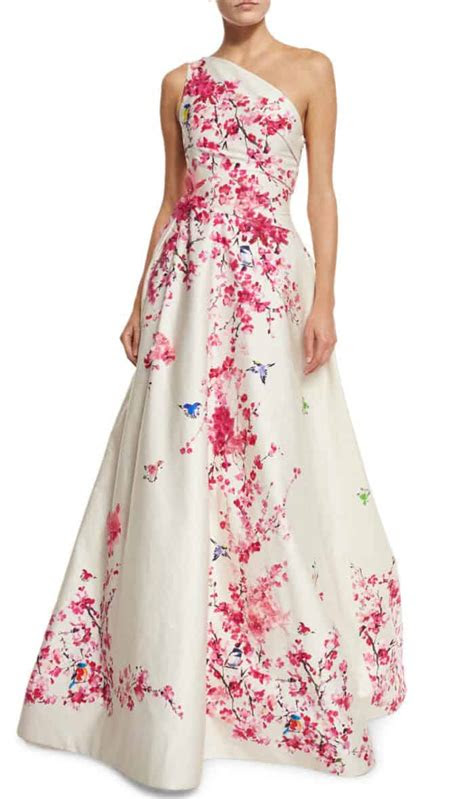 cherry blossom wedding ideas  inspiration dress
