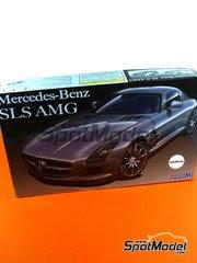 Fujimi: Maqueta de coche escala 1/24 - Mercedes Benz SLS AMG - maqueta de plástico image
