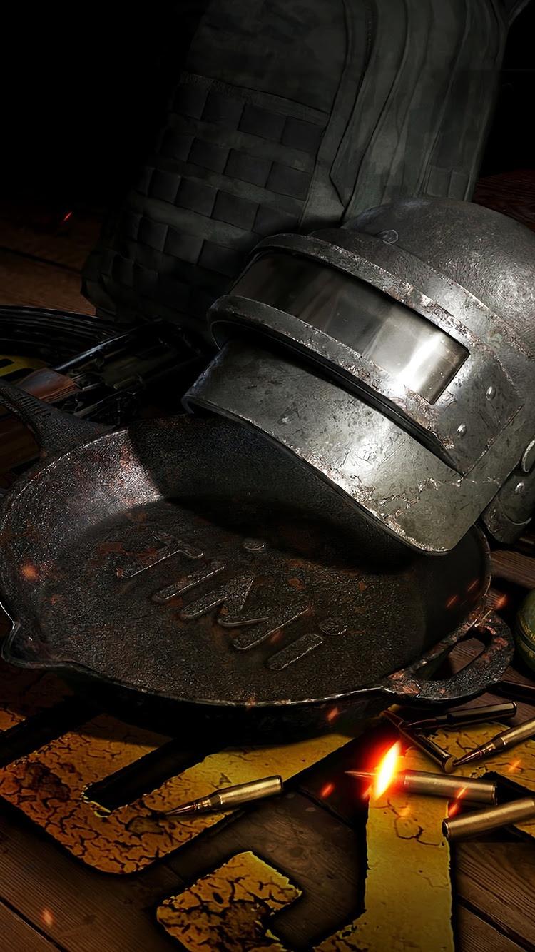 750x1334 Pubg Weapons Helmet 4k iPhone 6, iPhone 6S ...