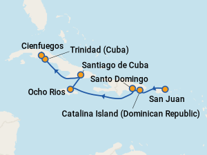 Cruise From San Juan To Cuba