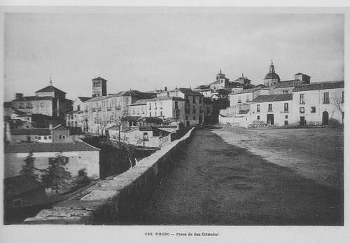 Paseo de San Cristóbal después de la ampliación de comienzos del siglo XX