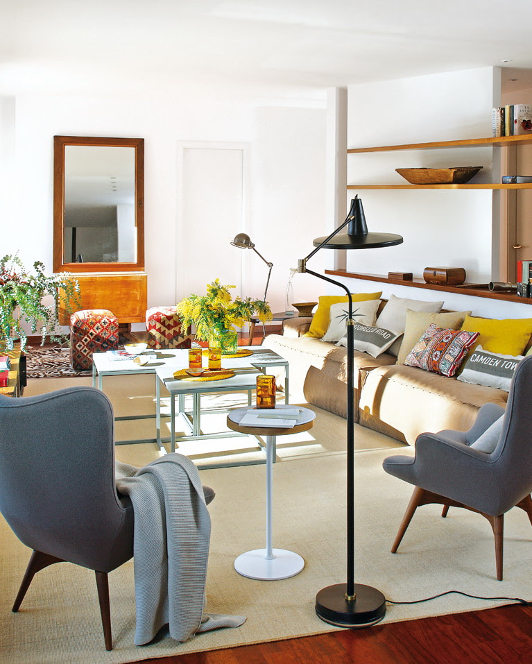 Sorelle Apartments: A Bright Apartment In Vintage Style