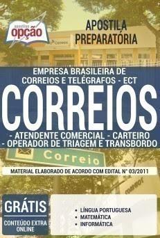 CONCURSOS CORREIOS 2016