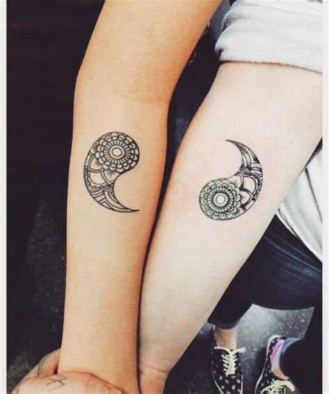 matching couple tattoo ideas passionate lovers