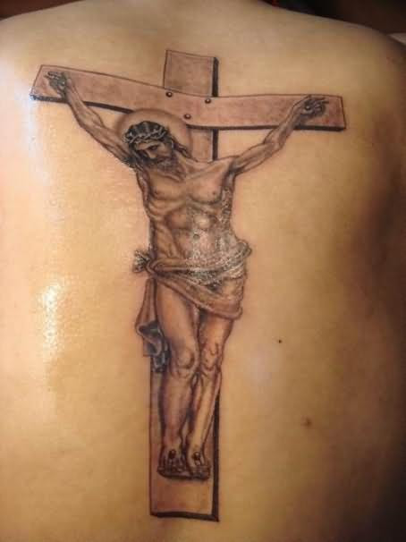 Jesus On The Cross Tattoos