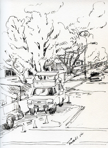 Rowad work next to my home - Ink