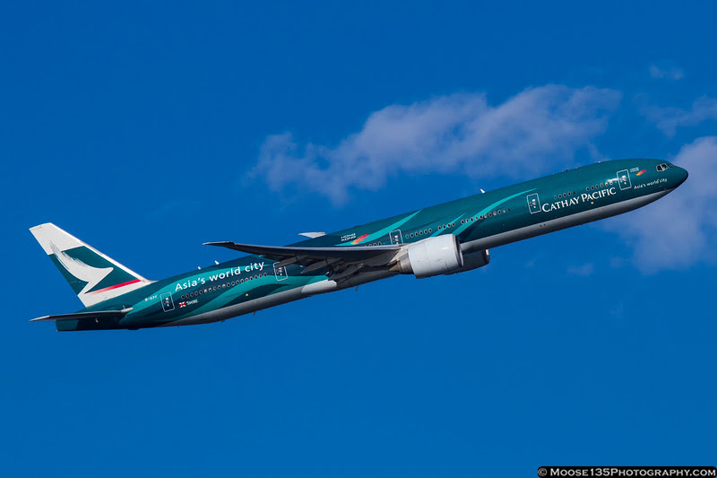 November 2 - A weekend visit home to New York calls for a little JFK spotting, and this Cathay Pacific special scheme.