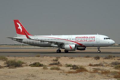 Air Arabia (airarabia.com) (UAE) Airbus A320-214 A6-ANP (msn 5502) (Sharklets) SHJ (Paul Denton). Image: 913892.