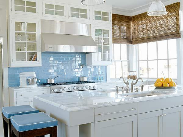 Glass Kitchen Backsplash Ideas