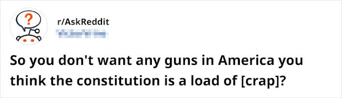 Someone Argues That The America would like Guns As A Constitutional Right, Gets pack up By nineteen Responses