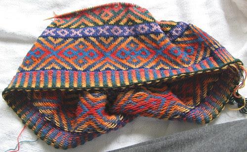 Autumn Color Cardigan - April 14, 2007