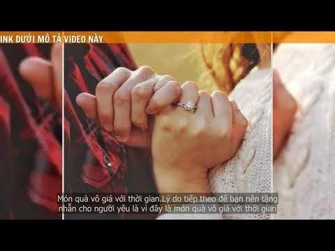 Khi dang yêu nhau có nên tặng nhẫn không ?