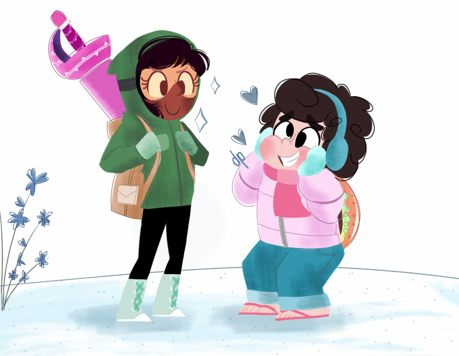 Connie's first mission!