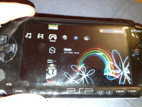 PSP remote play