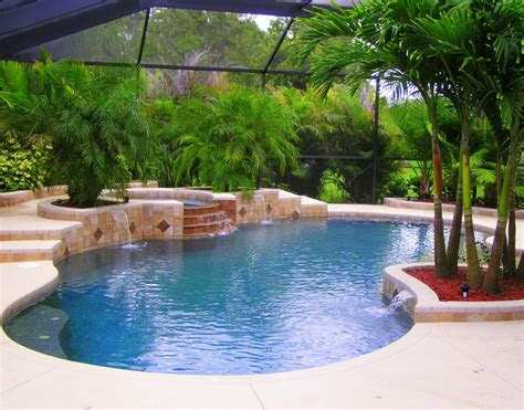 cool water pools  spas  photo gallery slideshow