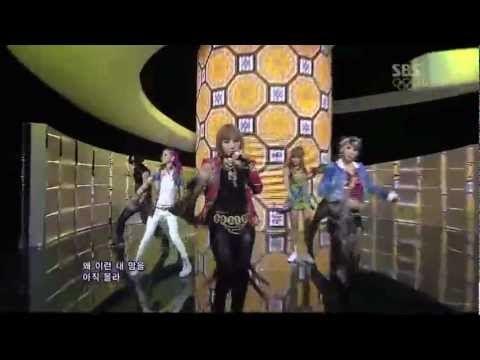 le 2ne1 live con i love you alla tv koreana
