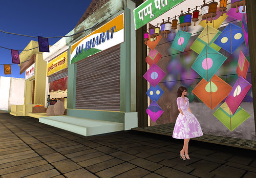 Zaara sim opening - In the markey alley