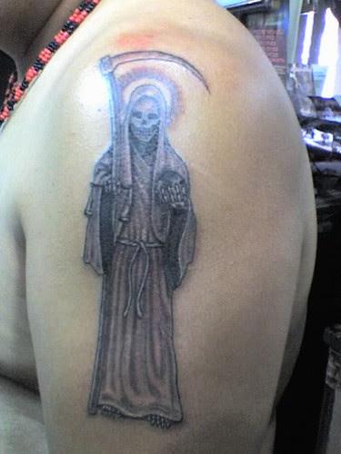 Imágenes De La Santa Muerte Tatuajes Originales Imágenes De La