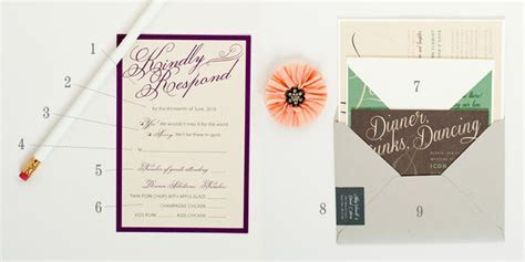 Anatomy of an RSVP Card   Hitch Studio