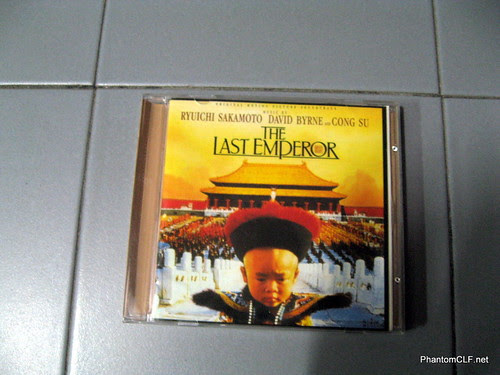 """The Last Emperor"" OST by Ryuichi Saskamoto & David Byrne"