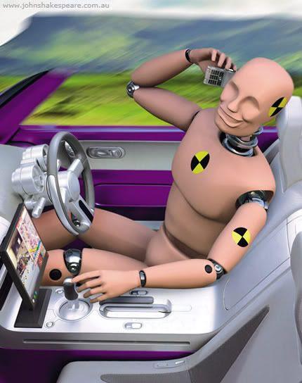 Nah, I'm not wearing my seat belt. I enjoy ejection.