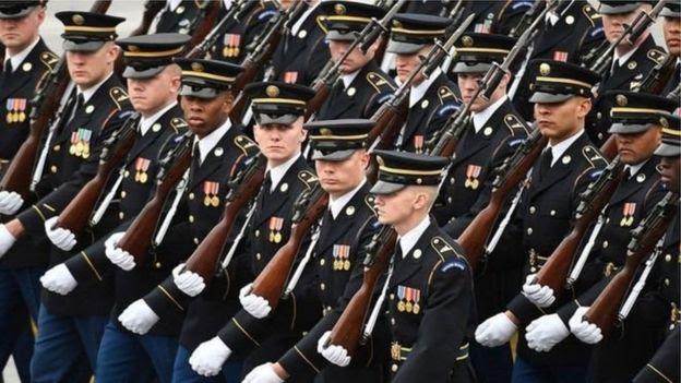 Mỹ chi cho quốc phòng nhiều hơn bất kỳ nước nào, ở mức 600 tỷ đôla hàng năm