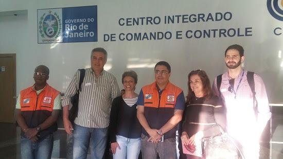 Sedec-RJ recebe integrantes da Defesa Civil de Salvador