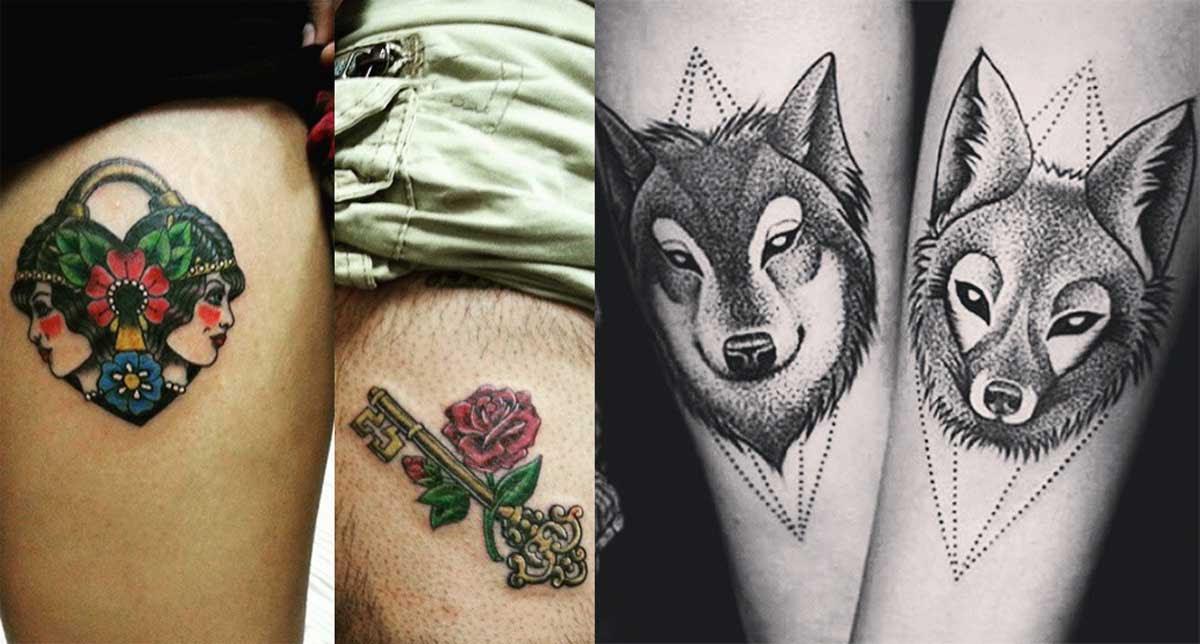 30 Parejas Que Se Tatuaron Para Mostrar Que El Amor Dura Para