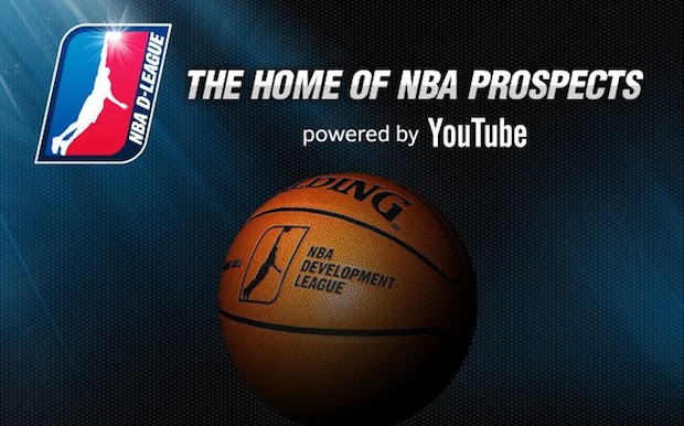 YouTube's biggest sports deal so far will bring live NBA DLeague games Friday