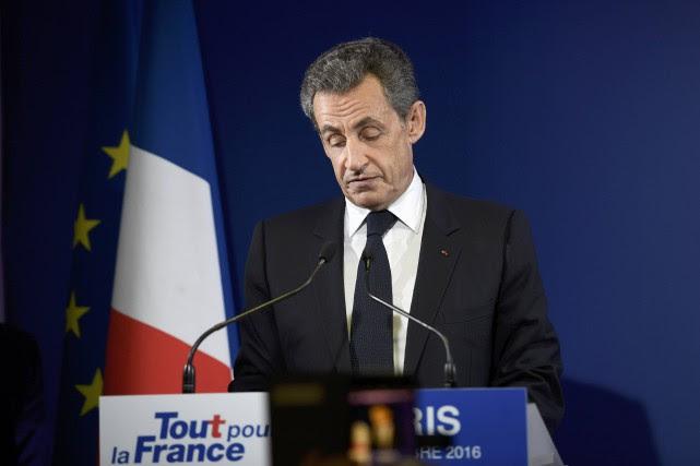 Nicolas Sarkozy a indiqué qu'il voterait pour son... (Photo Reuters)