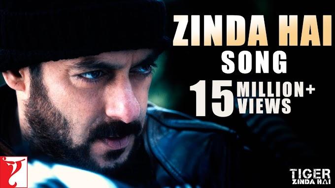 Zinda Hai Lyrics - Tiger Zinda Hai   Salman Khan   LYRICSADVANCE