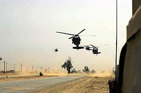 101st Airborne Division helos during Operation Iraqi Freedom.jpg