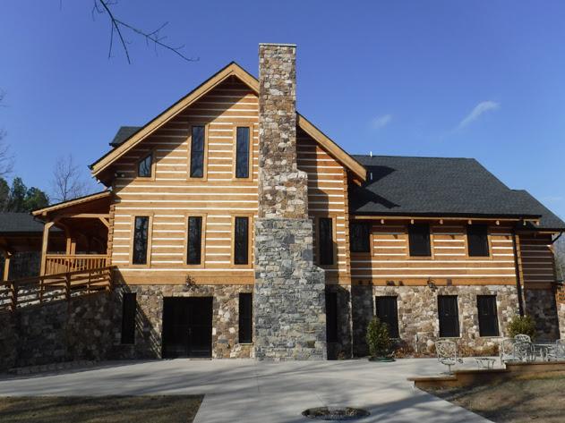 Log Homes Jim Nichols Construction Company