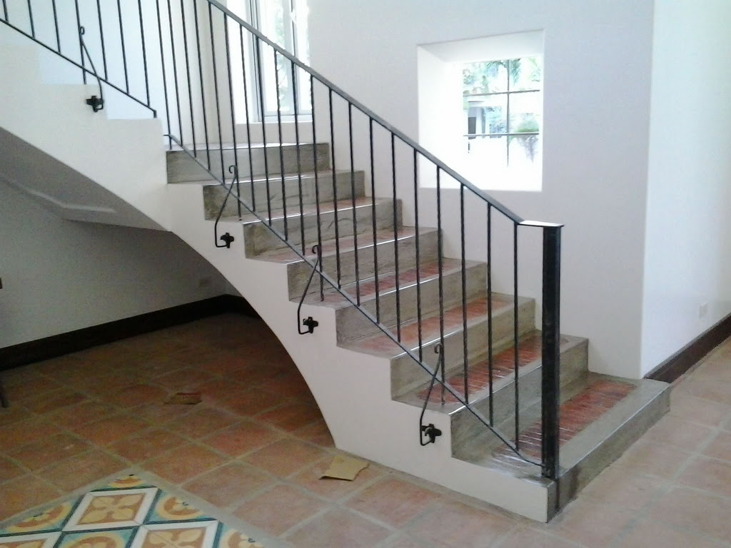 Stair Railing Simple Design Glass Railings Philippines Glass