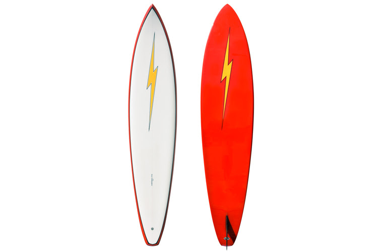 The Gun: a big wave surfing board | Photo: Lightning Bolt