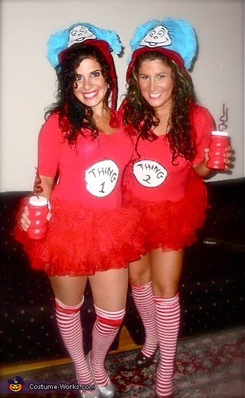 Thing 1 Thing 2 And The Cat In The Hat Costumes Photo 22