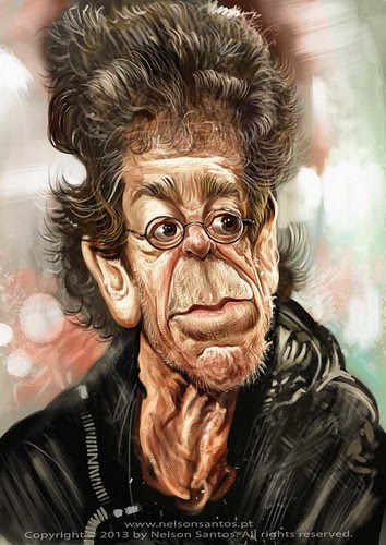 lou-reed-caricature-by-nelson-santos by caricaturas
