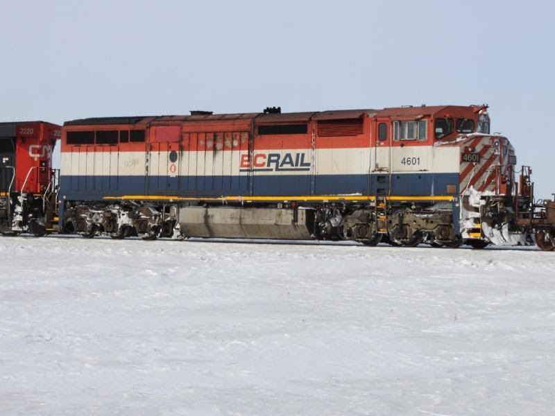 BC Rail 4601 in Winnipeg