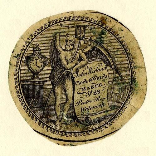 Watch-paper of Wieland, London (1828)