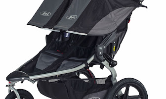 BOB 2016 Revolution FLEX Duallie Double Stroller Black