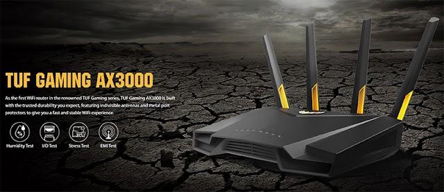【網店特價$1,499】ASUS TUF-AX3000 雙頻 WiFi 6 無線路由器 相對抵買的 Router