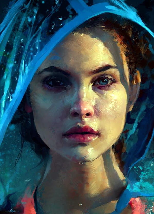 Spectacular Digital Painting Portraits (25)
