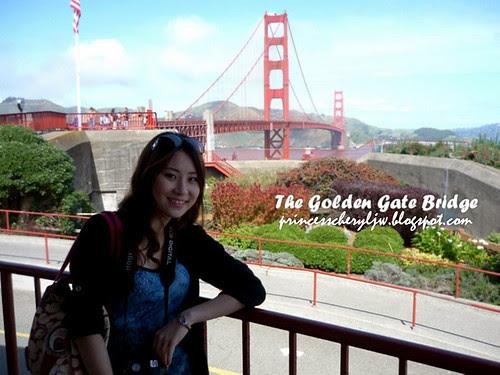 princess at golden gate bridge 4
