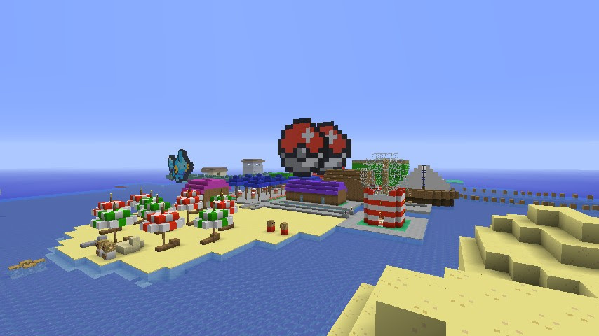 Pokemon Hoenn Adventure Map Minecraft Project