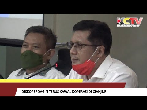 Diskoperdagin Terus Kawal Koperasi Di Cianjur