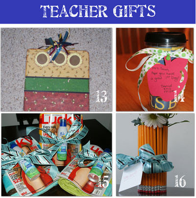 activities for kids 24 Teacher Appreciation Gifts {homemade gifts}