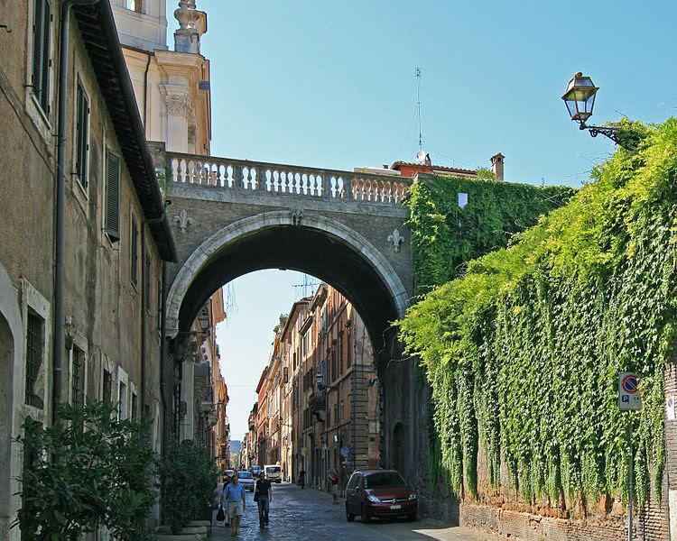File:Farnese Arch Rome.jpg