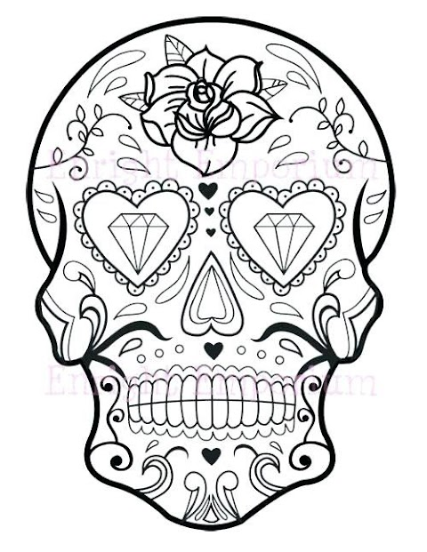 Get Inspired For Skull Coloring